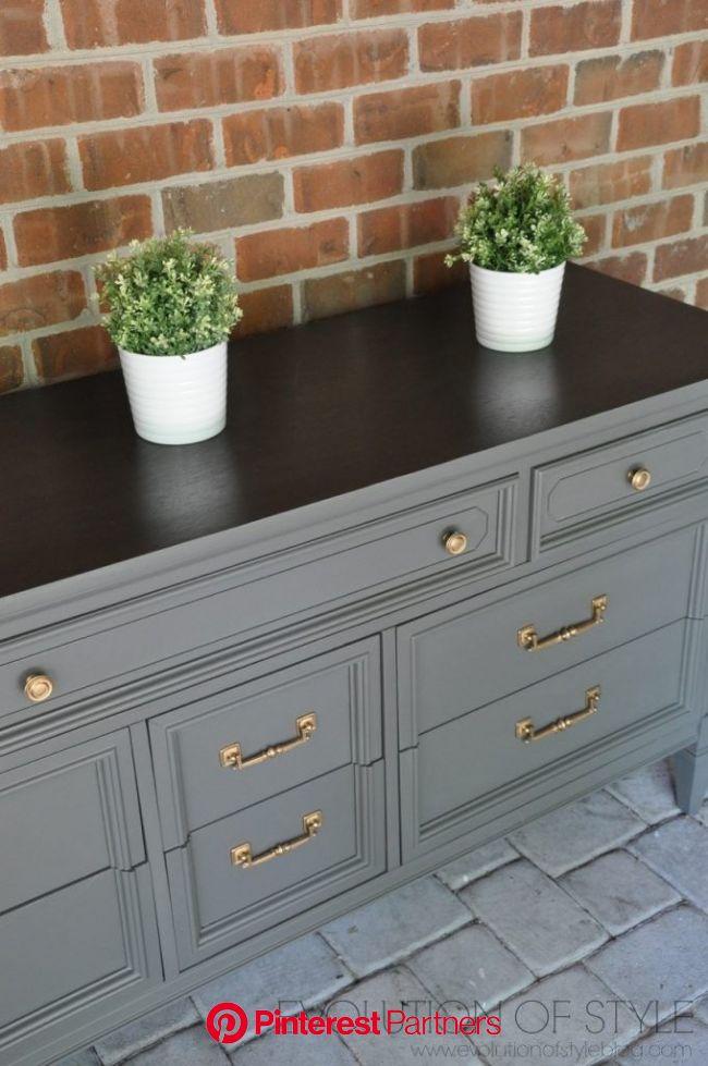 Thrifty Dresser Makeover Refurbished Furniture Painted Bedroom Furniture Furniture Wood Decor 2019 2020