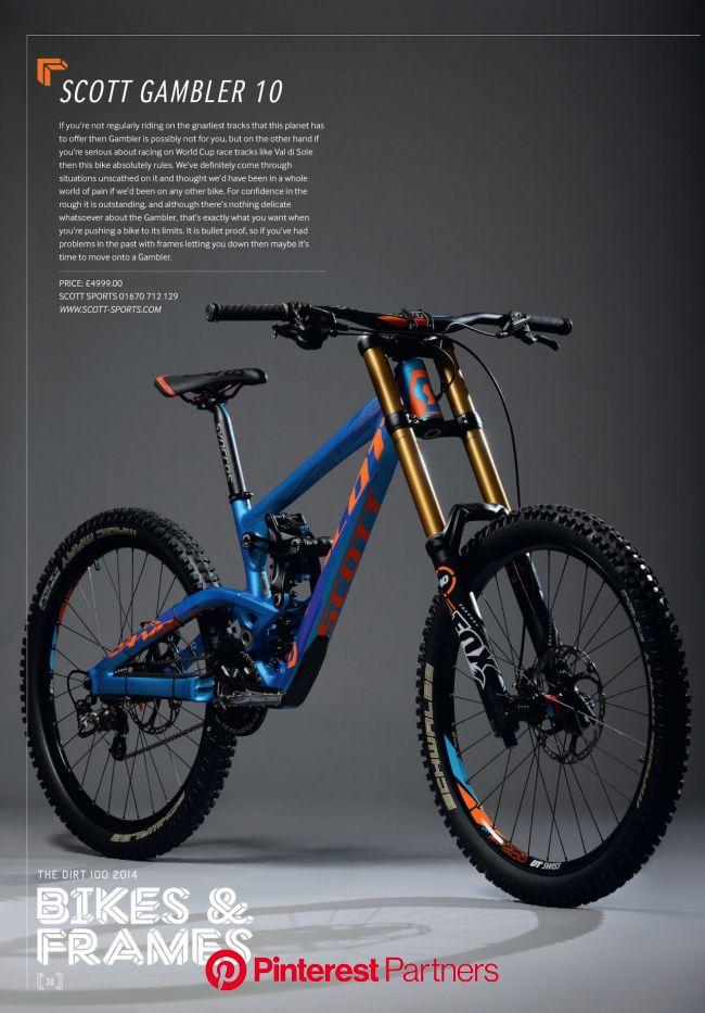 Dirt 100 2014 – Scott Gambler 10 | Dirt | Moutain bike, Downhill bike, Bike