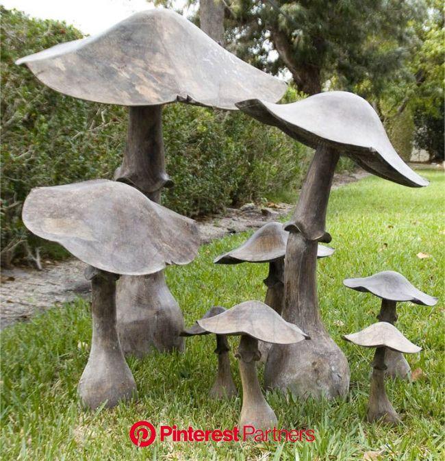 Fungo   Garden art diy, Concrete garden, Mushroom decor