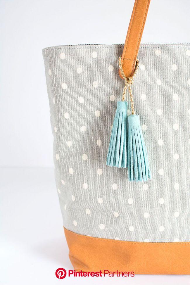 DIY Tassel Accessory - PBteen Blog | Diy tassel, Leather tassel, Diy accessory