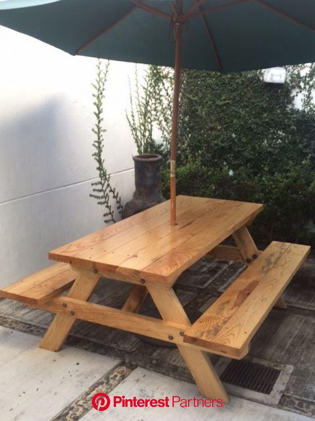Fotos de los clientes. Mesa de jardin de madera VIVA. | Muebles de jardín de madera, Jardines de madera, Mesas de patio