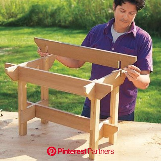 How to Make a Hypertufa Table | Woodworking, Woodworking projects, Wood projects
