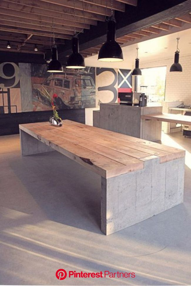 Residence of Impermanence | Home decor, Concrete furniture, Concrete table