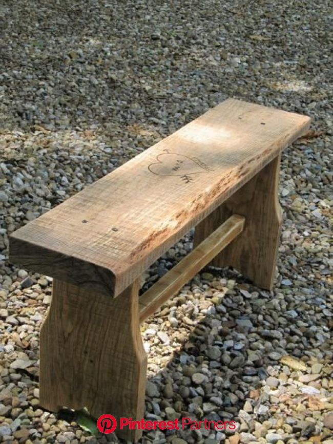 The one board bench | Diy furniture easy, Woodworking plans diy, Woodworking