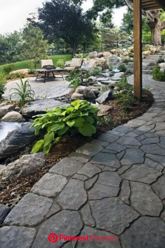 Top 70 Best Rock Landscaping Ideas - Boulder Designs [Video] [Video] | Backyard landscaping, Stone patio designs, Landscaping with rocks