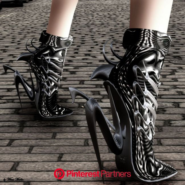 Wicca's Wardrobe – Dark Fashion | Futuristic shoes, Futuristic fashion, Fashion