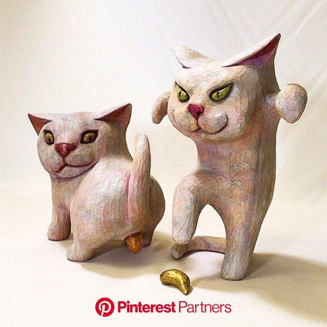 Photos and videos by シドロモドロ工作所 (@shidokou) | アートドール, 猫のイラスト, 猫のデザイン