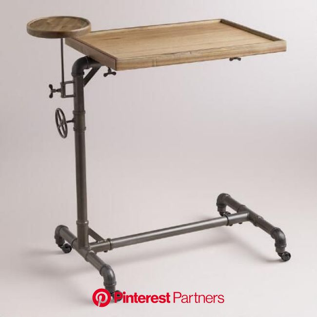 Adjustable Laptop Table   Adjustable laptop table, Laptop table, Industrial outdoor furniture