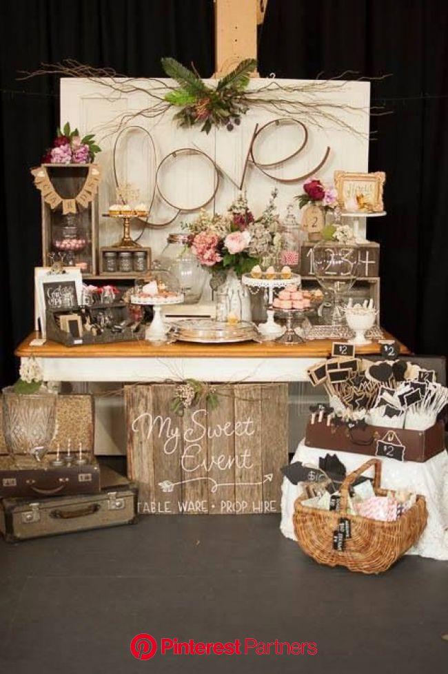 Vintage Ideas | Wedding dessert table, Wedding decorations, Wedding table