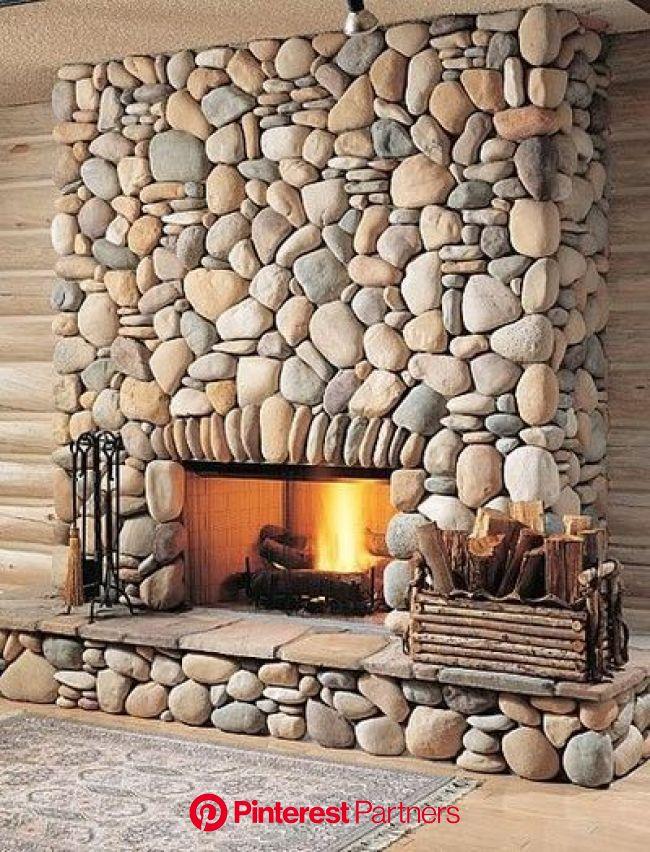 Ispirazioni per un camino in pietra! 15 rustiche idee che vi faranno innamorare | Idee camino, Caminetti rustici, Design camino