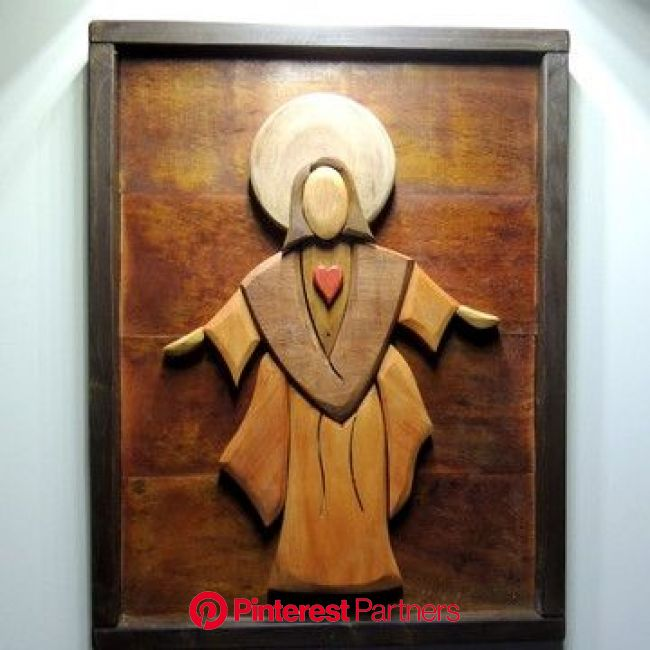 PROMOÇÃO Jesus madeira demolição 3d chique rústico | Quadro de madeira, Cruzes de madeira, Arte em madeira