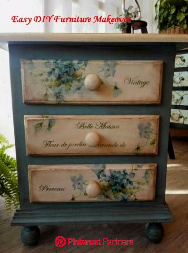 14 Unique Ways to Makeover Your Furniture in 2020   Painted furniture, Redo furniture, Decoupage furniture