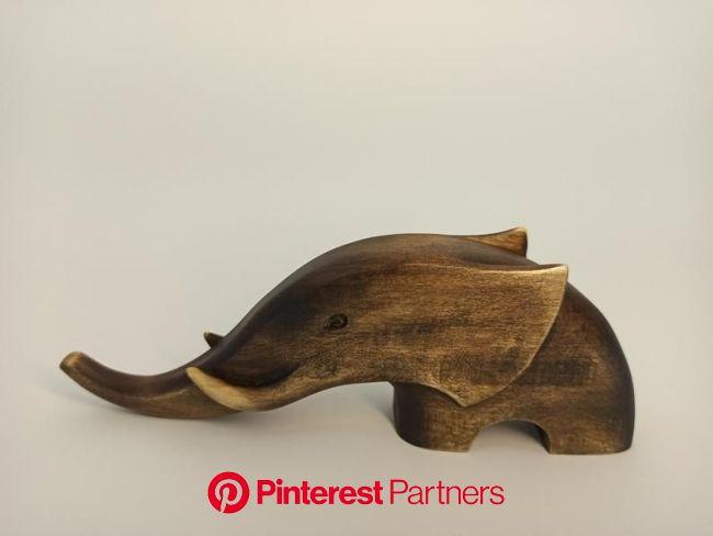 Elephant figurine 2 Wood carving Sculpture art Wooden | Etsy в 2021г | Слоны, Простые деревянные поделки, Деревянная скульптура