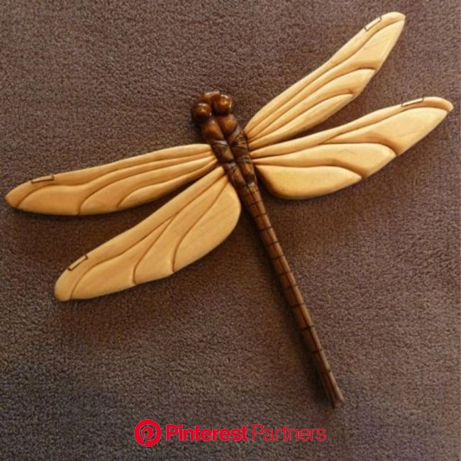 Dragonfly Intarsia | Etsy in 2021 | Intarsia wood patterns, Intarsia wood, Intarsia woodworking