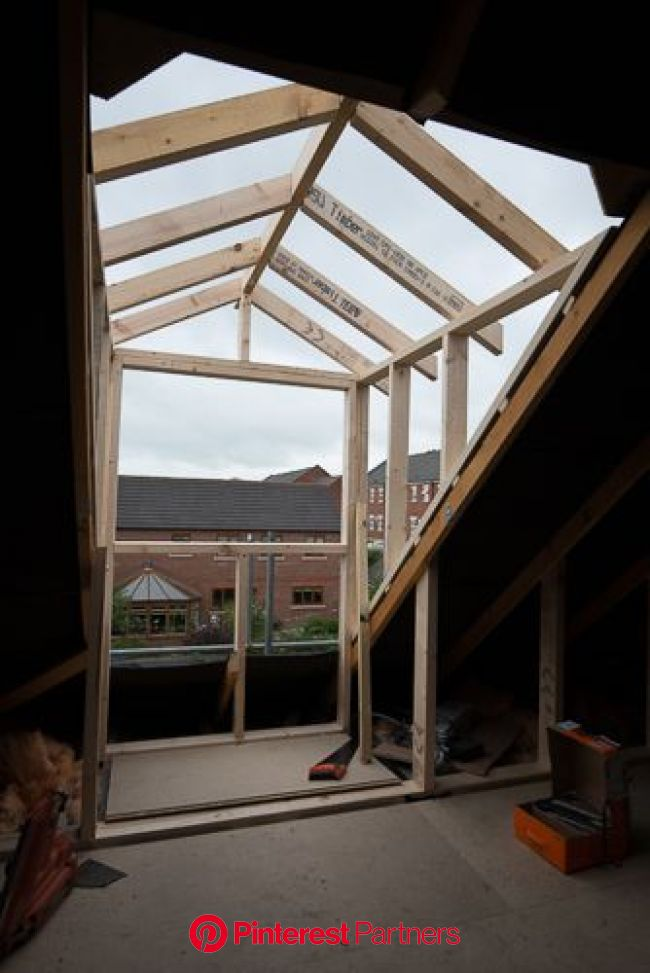 Pin by Edwanna Myers on Attic Ideas in 2020   Window construction, Attic renovation, Attic rooms