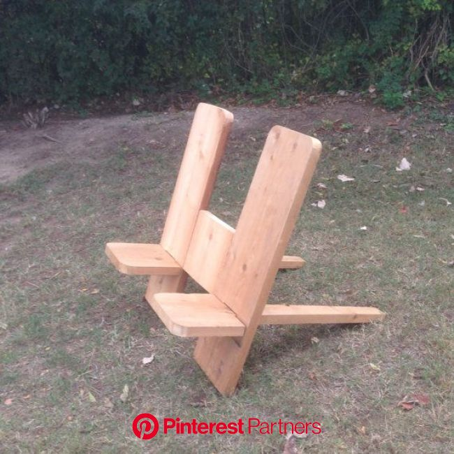 Double Gang Plank Plank Chairs | Bird houses diy, Modern wooden furniture, Wood projects