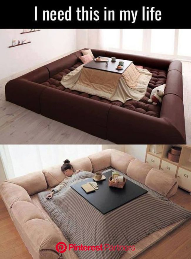 Best invention EVER: Table Bed in 2020 | Interior design living room, Cool beds, Home