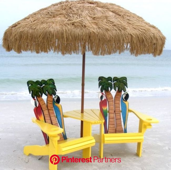 Adirondack Beach Chairs - The Perfect Summer Chairs | Beach chairs, Tropical adirondack chairs, Beach house decor