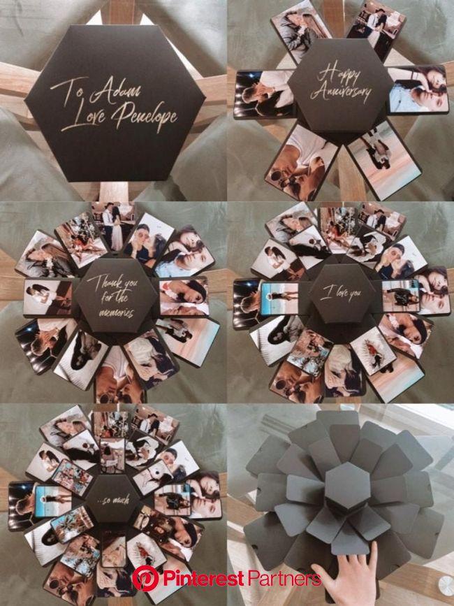 Creative Anniversary Gift For Boyfriend, Husband | Gift For Him | First Anniversary Idea | Romantic Gift | Sentimental Gift in 2021 | Creative birthda