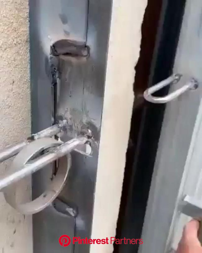 Interesting lock???? [Video] in 2020 | Metal fabrication tools, Metal sheet design, Metal fabrication