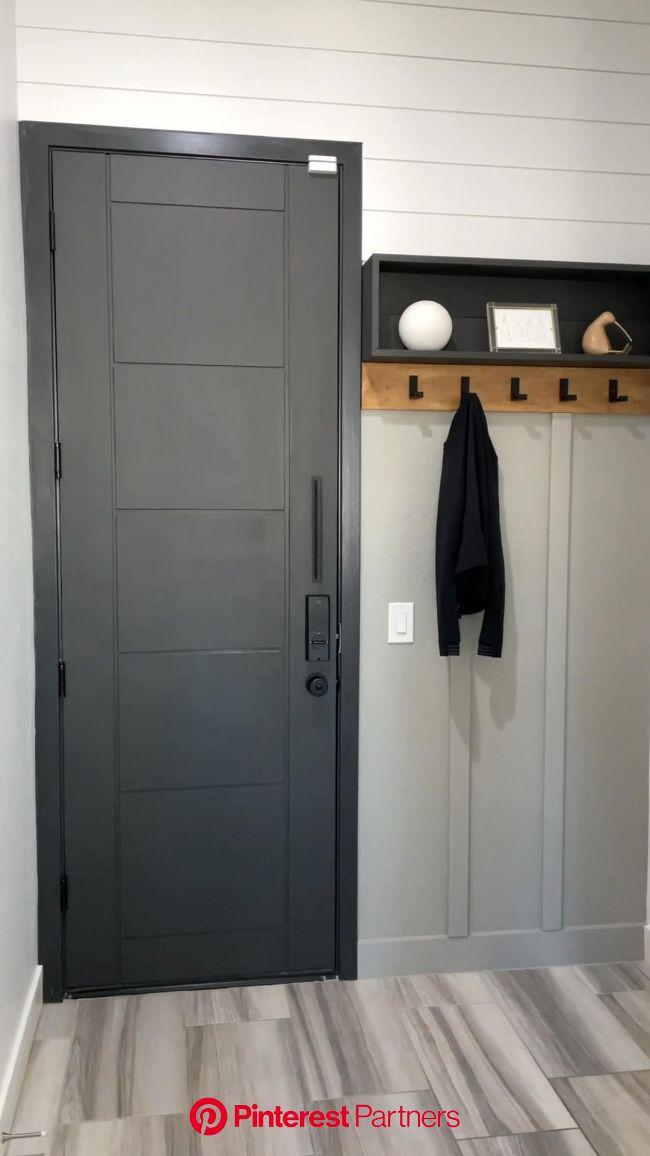 DIY Panel Door - Watch The Transformation! [Video] in 2021   Doors interior, Diy panel door, Doors interior modern