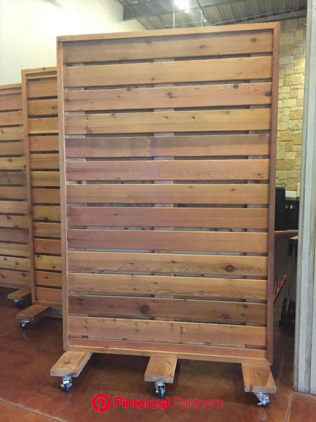 How To Build A Freestanding Wall On Wheels (12 Pictures) — BreakPR | Wall on wheels, Free standing wall, Wood partition