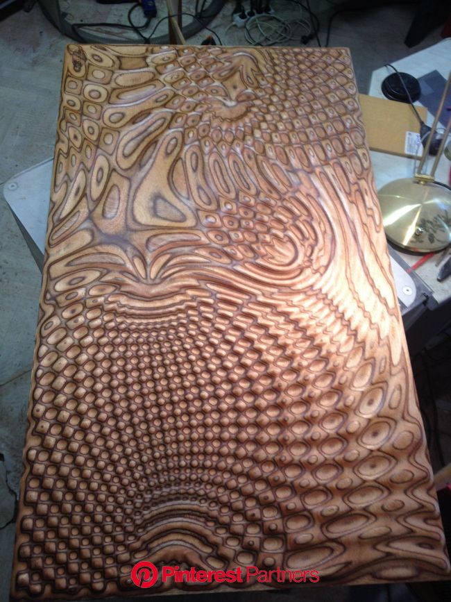 Organic interference relief by bonitum.deviantart.com on @deviantART | Plywood art, Wood sculpture, Wood design
