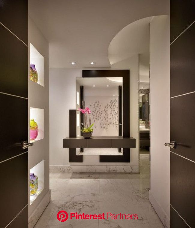 20 Awesome Contemporary Entry Design Ideas Modern Entry Foyer Design Modern Entryway Wood Decor 2019 2020