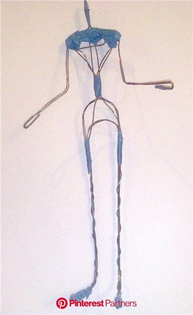 Мастер-класс смотреть онлайн: Создание проволочного каркаса для авторской куклы | Журнал Ярмарки Мастеров | Куклы, Связаные крючком куклы, Шарнирные к