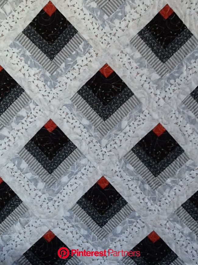 Build Your Best Log Cabin & My Chickadee Fabrics from Andover | Log cabin quilt pattern, Log cabin quilt, Scrap quilts