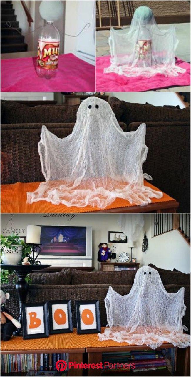 40 Easy to Make DIY Halloween Decor Ideas | Homemade halloween decorations, Cheap halloween decorations, Cheap halloween