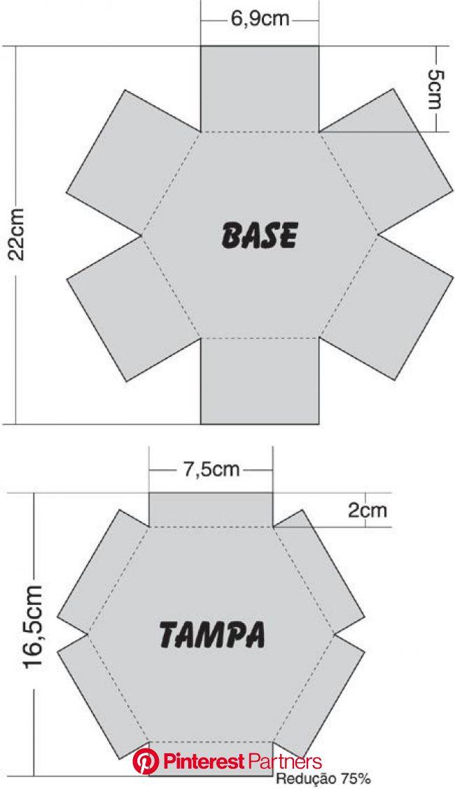 Como Fazer Adesivos Para as Unhas com Caixa de Leite - Artesanato na Rede | Quadros de caixa, Moldes de caixas de papel, Explosion box