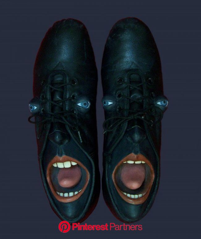 #WOMENSART on Twitter | Funny shoes, Old shoes, Crazy shoes