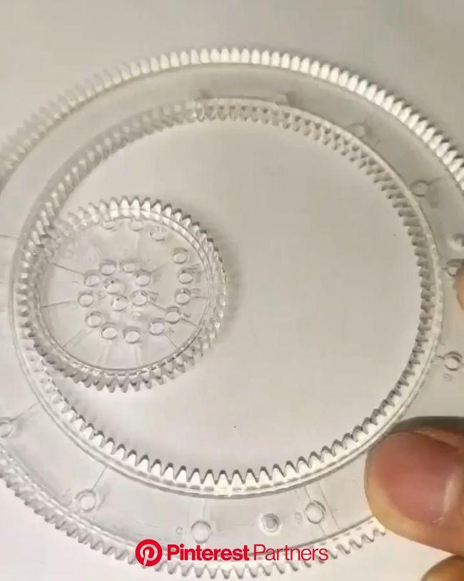 Conjunto de Réguas Magic Flowers - Frete Grátis [Vídeo] em 2021 | Kit de desenho, Artesanato de papel para crianças, Diy presentes criativos