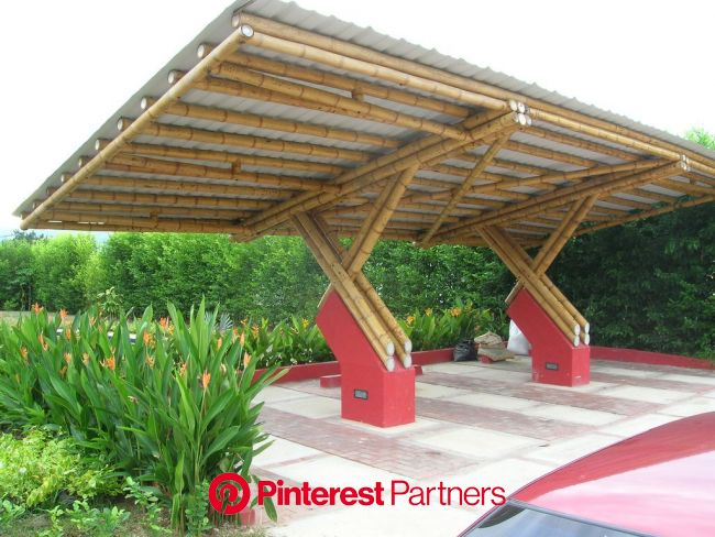 cubierta www.zuarq.co   Bamboo roof, Bamboo house design, Bamboo structure