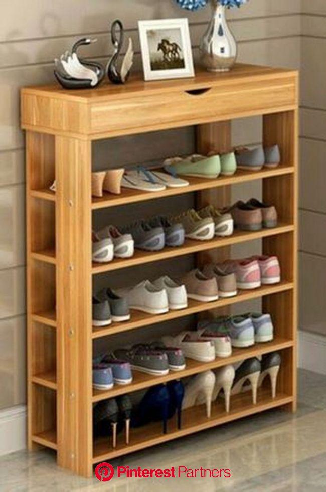 17 Brilliant Shoes Storage Ideas On a Budget | Wooden shoe rack designs, Wooden shoe racks, Diy shoe rack