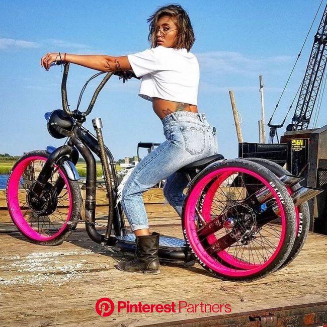 @_jrat #kustomkulture #author #super #electro #motor #collection #bomb | Chopper bike, Retro bicycle, Bike design