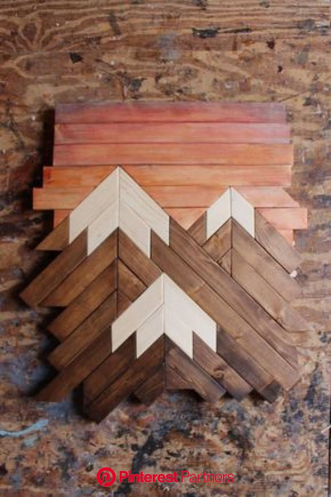 Mountain Wood ArtMountain RangeModern Wood ArtWood Wall | Mountain wood art, Wood crafts, Wooden wall decor