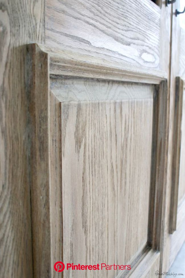 How To Get A Rustic Bleached Wood Finish Bleached Wood Rustic Furniture Whitewash Kitchen Cabinets Wood Decor 2019 2020