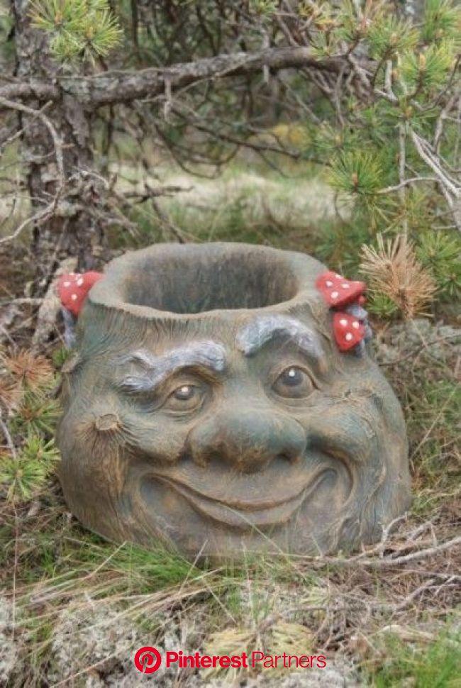 Своими руками | Садовые кадки, Садовые украшения, Садовые идеи