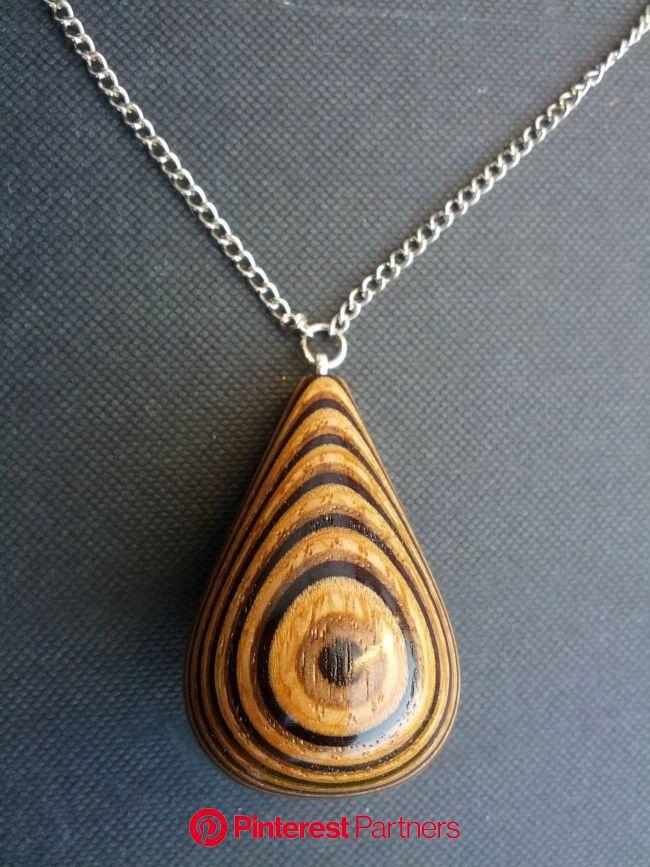 Jewellery by Patrick McEldowney at Coroflot.com | Wood jewelery, Wooden jewelery, Wooden jewelry