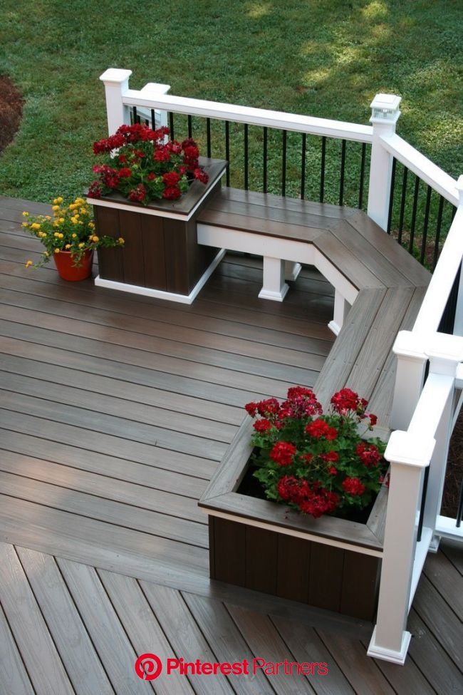 Decks – something for every taste and every style of home… | Backyard, Backyard patio designs, Patio