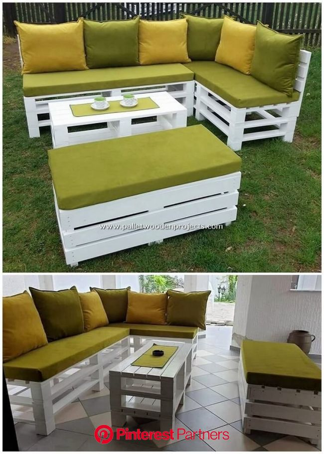 Cool and Easy DIY Ideas with Shipping Pallets (con imágenes) | Muebles con palets jardin