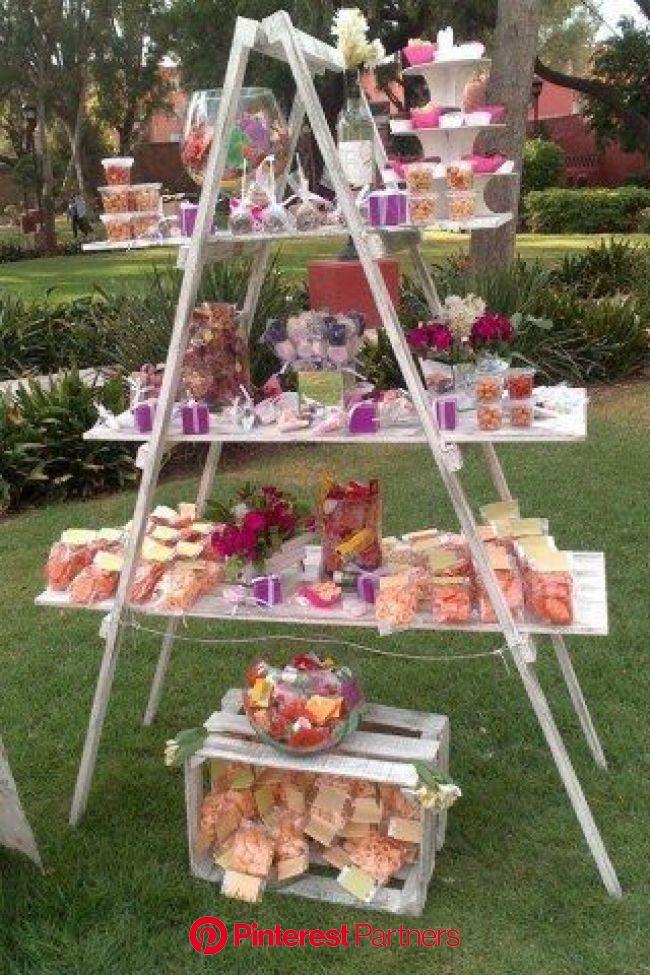 Nicht nur zur Hochzeit ein Highlight: Die Candy Bar | Candi bar, Candy bar, Party