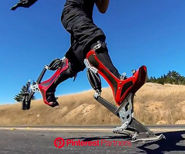 Bionic Boots | Inventions, Wearable technology, Cool technology