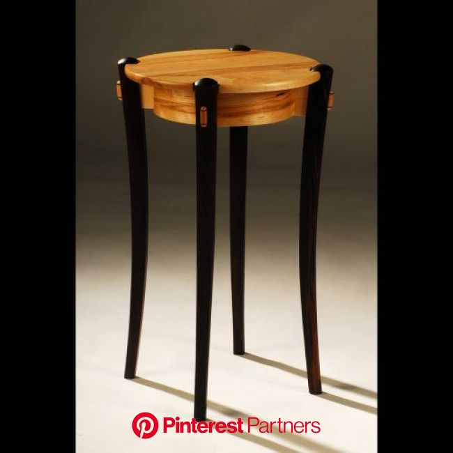 Round Lamp Table | Fine woodworking furniture, Art furniture design, Furniture projects