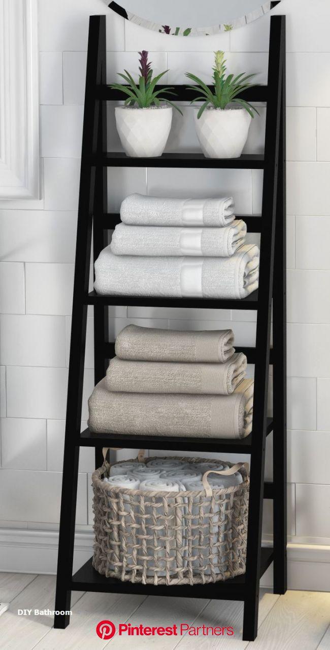 Great DIY Bathroom Storage Ideas #diybathroom #DiyBathroomStorageIdeas | Great diy bathrooms, Small bathroom decor, Diy bathroom storage ideas