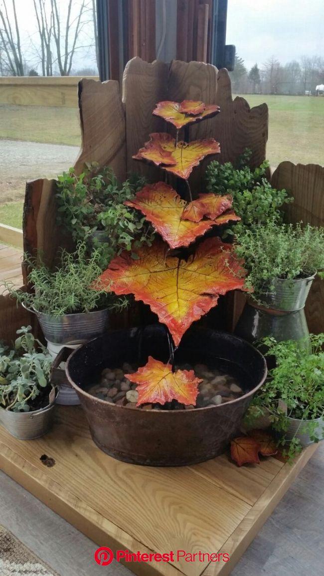 22 Unique DIY Fountain Ideas to Spruce Up Your Backyard   Diy garden fountains, Garden water fountains, Diy fountain