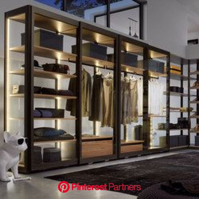 Perfil 9 | Walk-in wardrobes | Sistema Midi in 2020 | Wardrobe room, Closet layout, Bedroom styles
