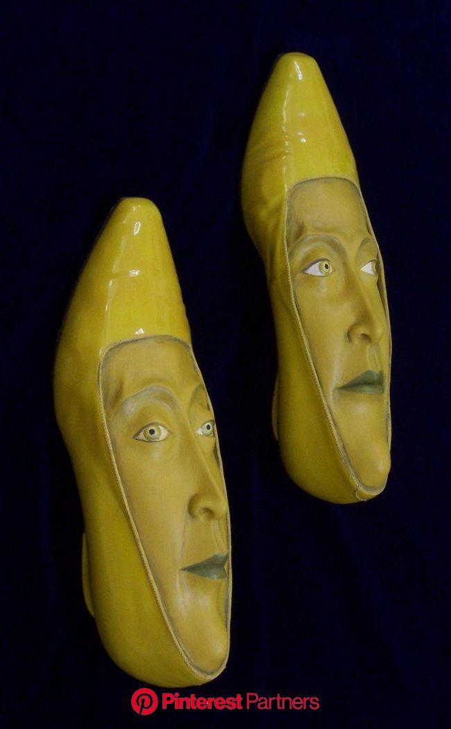 Gwen Murphy ~ Shoe Sculptures | Trash art, Shoe art, Sculptures